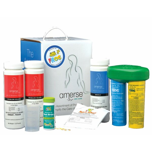 Amerse™ Spa Frog Kit by Carefree Stuff