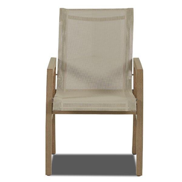 Lawson Teak Patio Chair by Union Rustic