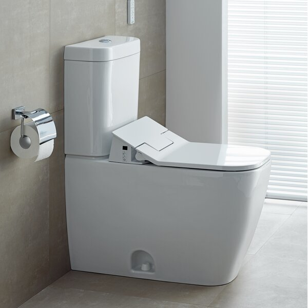 Happy D.2 Elongated Two-Piece Toilet (Seat Not Included) by Duravit