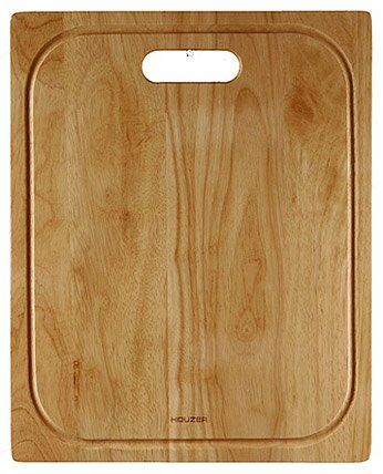 Endura Cutting Board in Premium Hardwood by Houzer