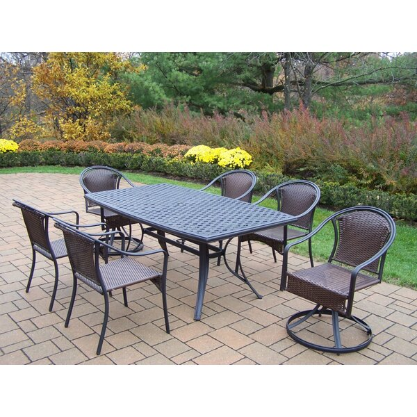 Basile 7 Piece Dining Set by August Grove