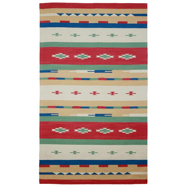 Sedona Hand-Woven Red Area Rug by St. Croix