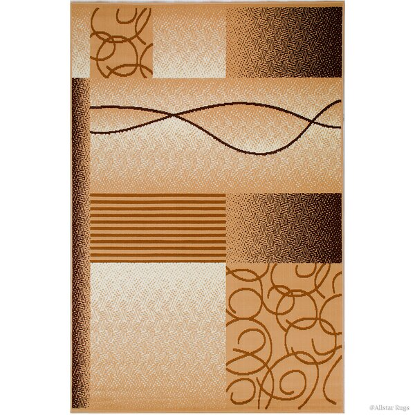Hand-Woven Brown Area Rug By Allstar Rugs.