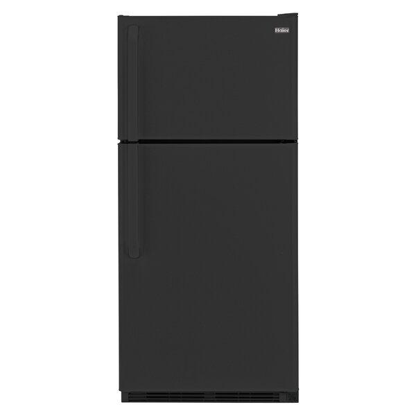 18.1 Cu. Ft. Top Freezer Refrigerator by Haier