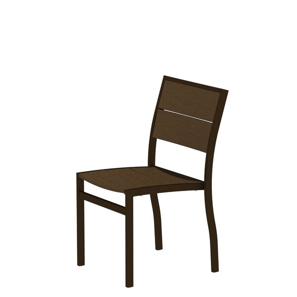 Surf City Stacking Patio Dining Chair by Trex Outdoor