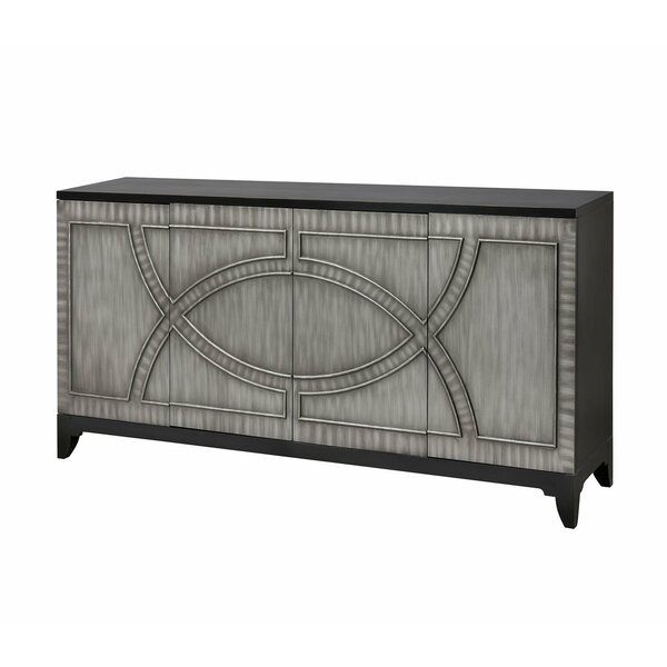De Longpre Credenza by Bungalow Rose Bungalow Rose