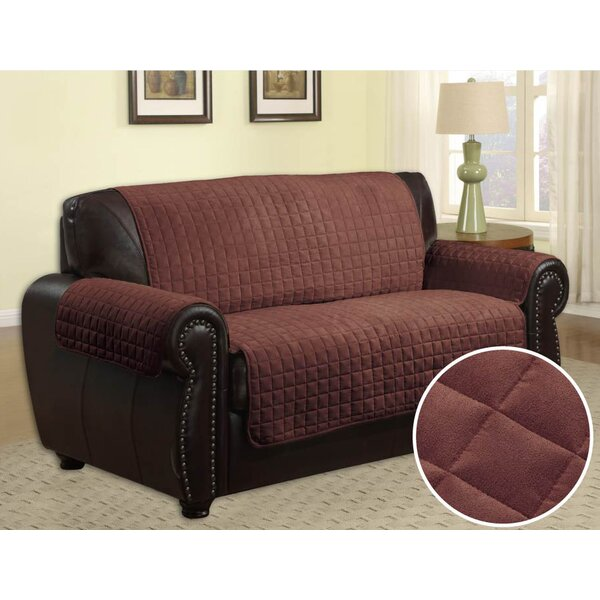 Quilted Box Cushion Sofa Slipcover By LaCozee Best Choices