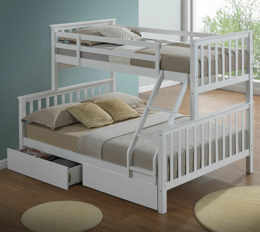Home Loft Concept Mara Triple Sleeper Bunk Bed With