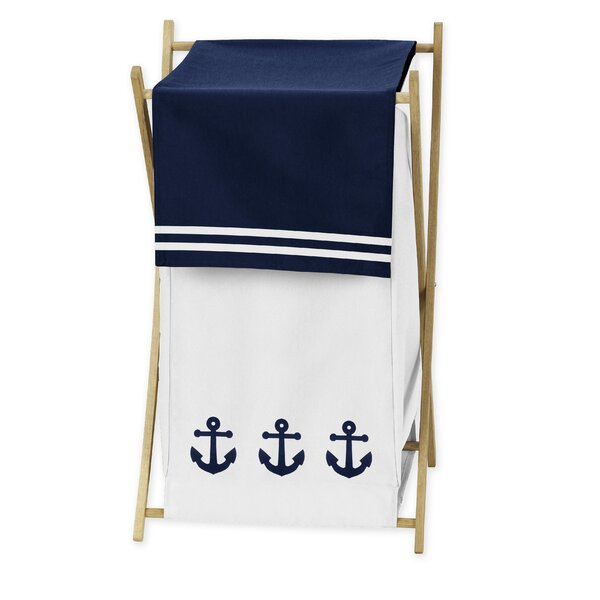 Anchors Away Laundry Hamper by Sweet Jojo Designs