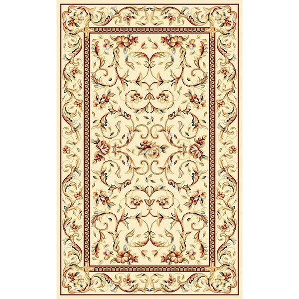 Taufner Ivory Area Rug by Astoria Grand