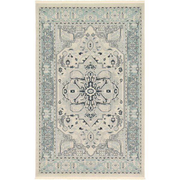 Zoey Cream Area Rug by World Menagerie