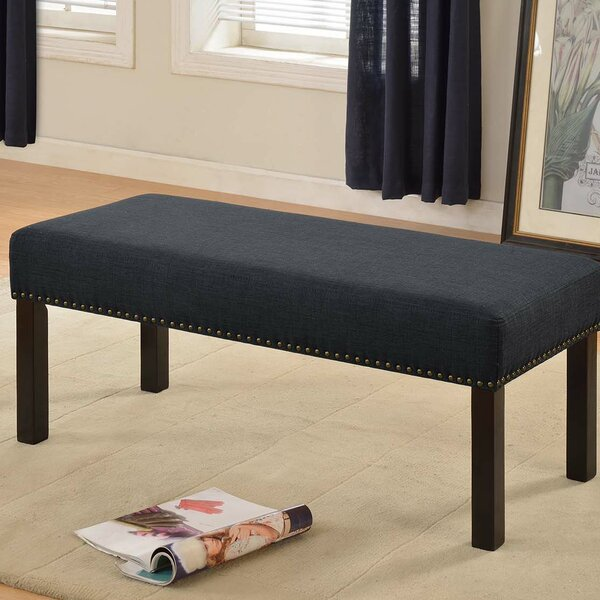 Lilith Upholstered Bench by Charlton Home