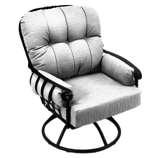 Athens Patio Chair with Cushion by Meadowcraft
