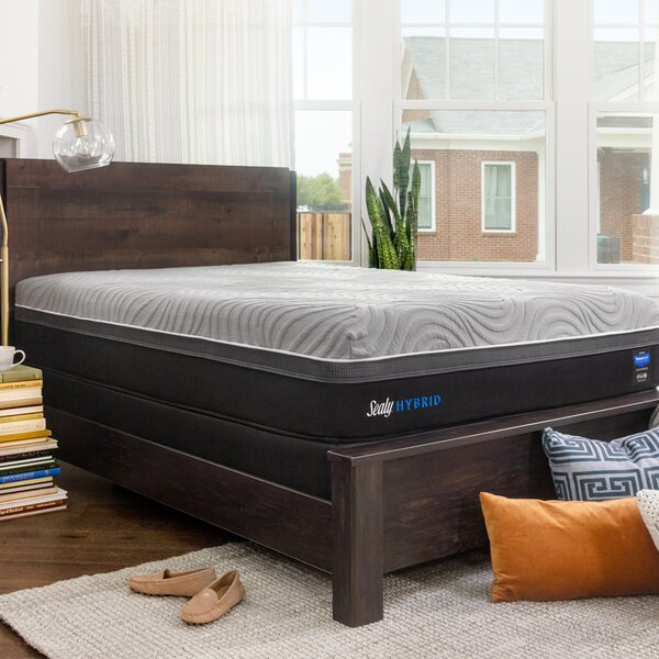 Hybrid™ Performance Copper ll 13.5 Firm Mattress and 5 Box Spring by Sealy
