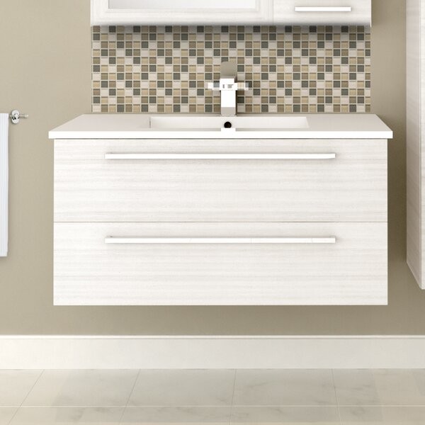 Silhouette 36 Single Bathroom Vanity Set by Cutler