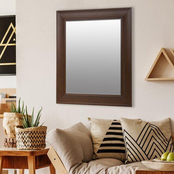 Schubert Beveled Wall Mirror by Charlton Home