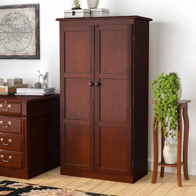 Darby Home Co Fellers 2 Door Storage Cabinet & Reviews