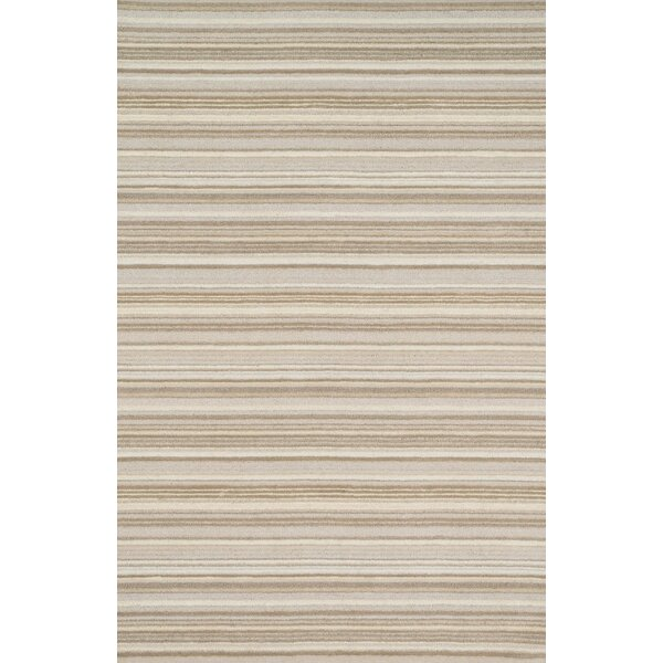 Kirksey Hand-Tufted Neutral Area Rug by Charlton Home
