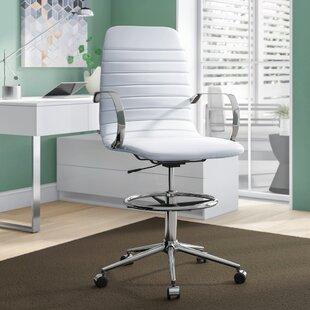 Gwaltney Ribbed Back Ergonomic Drafting Chair