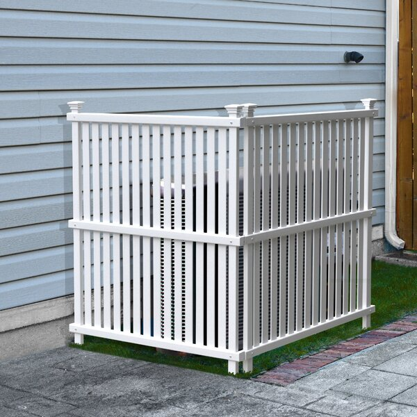 4 ft. H x 6 ft. W Wilmington Fence Panel (Set of 2) by Zippity Outdoor Products