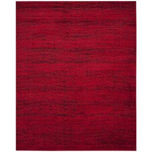 Schacher Red/Black Area Rug
