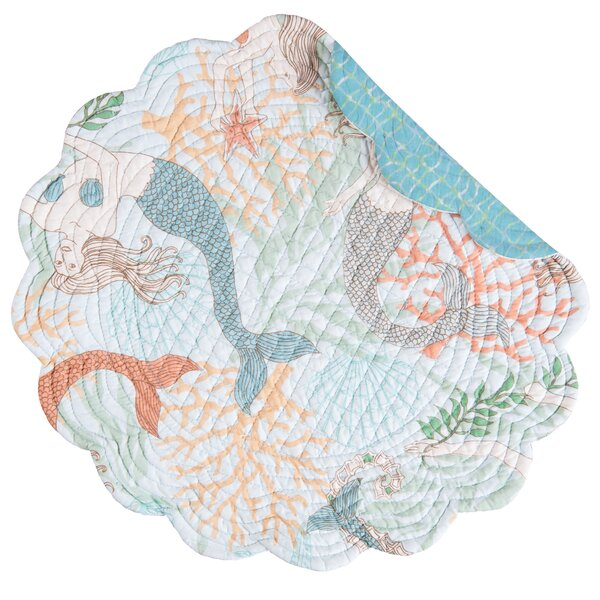 Chatsworth Placemat (Set of 6) by Beachcrest Home