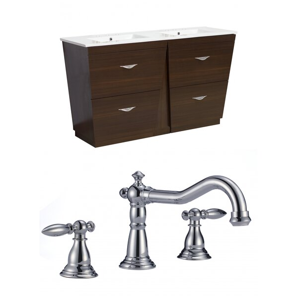 Vee 60 Double Bathroom Vanity Set by American Imaginations