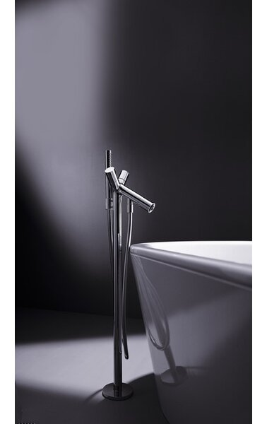 Axor Starck Two Handle Floor Mounted Standing Tub Filler Trim by Axor
