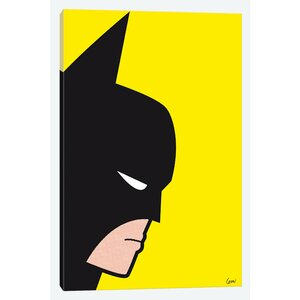 'Bat' Graphic Art on Wrapped Canvas by East Urban Home