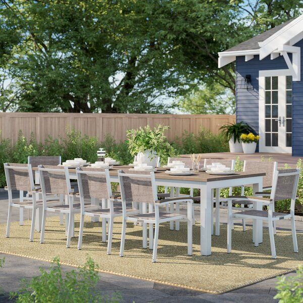 Caspian 11 Piece Dining Set By Sol 72 Outdoor