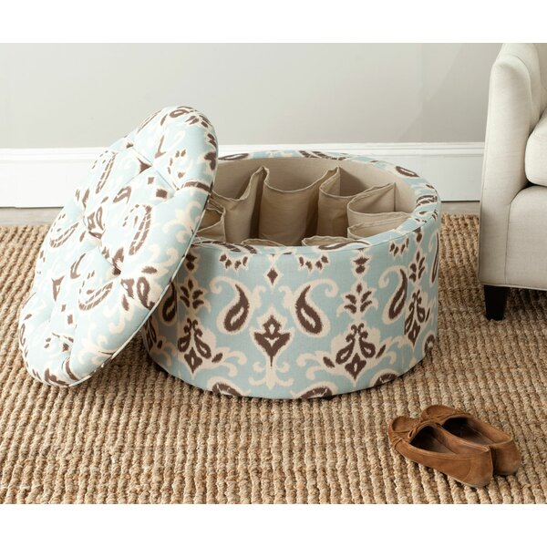 Lenore Tufted Storage Ottoman By One Allium Way