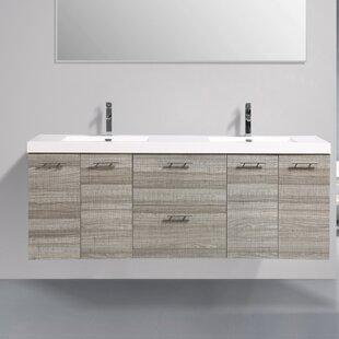 Affordable Price Ophir 84 Wall-Mounted Double Bathroom Vanity ByOrren Ellis