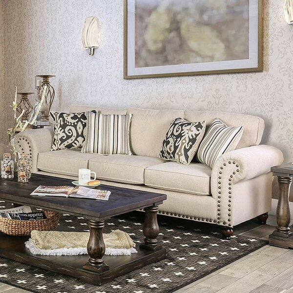 Fella Leather Sofa by Darby Home Co