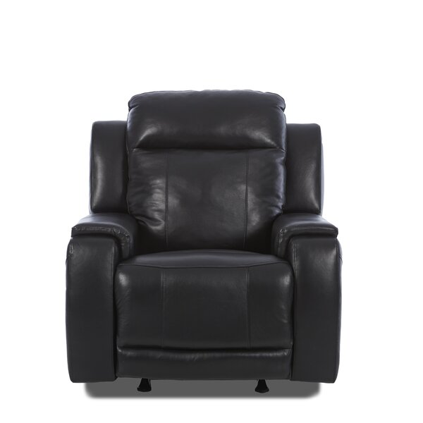 Biali Recliner with Foam Seat Cushion [Red Barrel Studio]