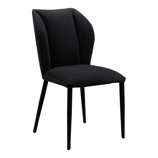 Suffield Upholstered Dining Chair (Set of 2) by Everly Quinn Everly Quinn