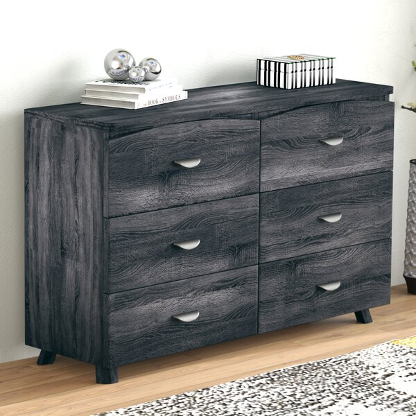 Clore Spacious 6 Drawer Double Dresser by Ivy Bronx