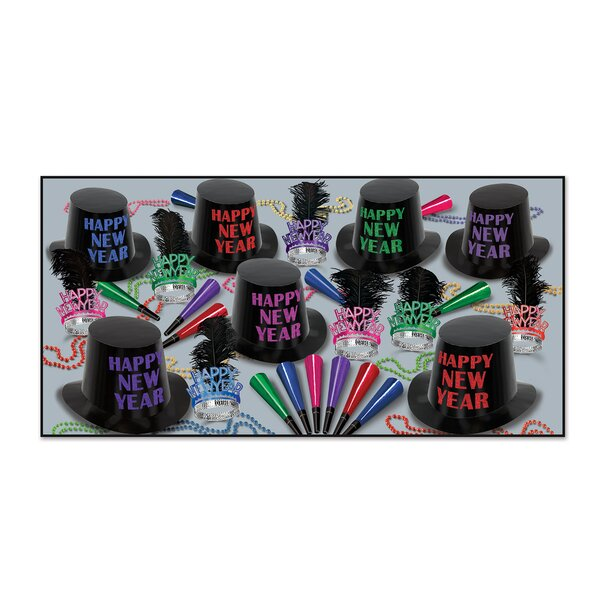 Midnight Party Disposable Party Hat Set by The Holiday Aisle