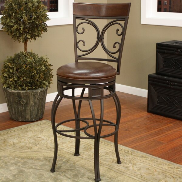 Matherville Swivel Counter Bar & Extra Stool by Darby Home Co Darby Home Co