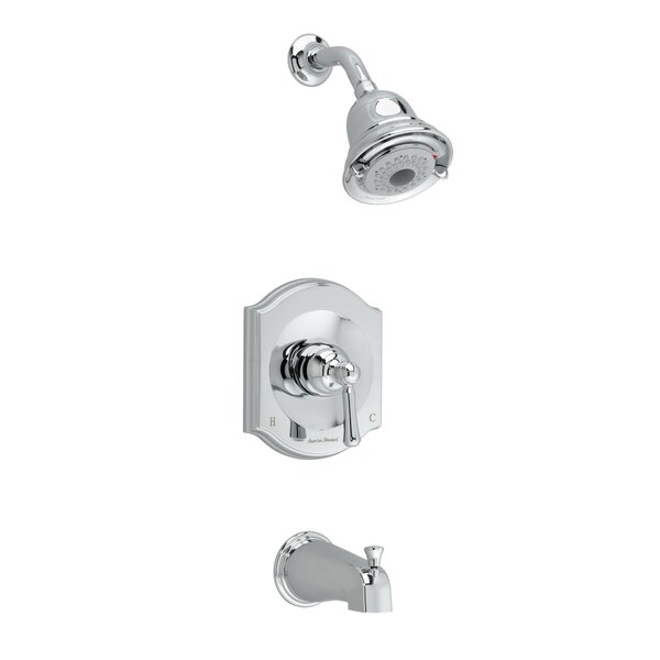 Portsmouth Flowise Diverter Bath/Shower Faucet Trim Kit with Lever Handle by American Standard