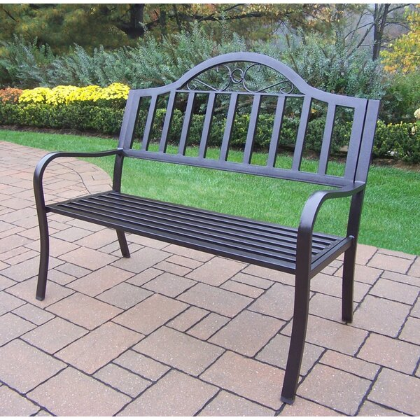 Lisabeth Iron Garden Bench by Red Barrel Studio