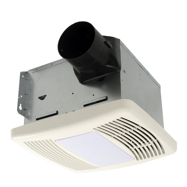 HushTone 110 CFM Energy Star Bathroom Fan With Motion Sensor Combo by Cyclone