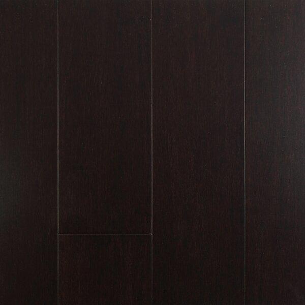 4-1/2  Solid-Lock Strandwoven Bamboo Flooring in Dark Chocolate by ECOfusion Flooring