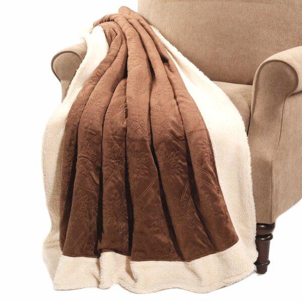 Micro Plush Sherpa Throw by BOON Throw & Blanket