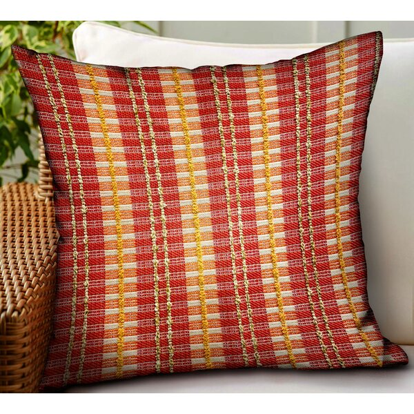 Tarin Stripes Luxury Indoor/Outdoor Throw Pillow By August Grove