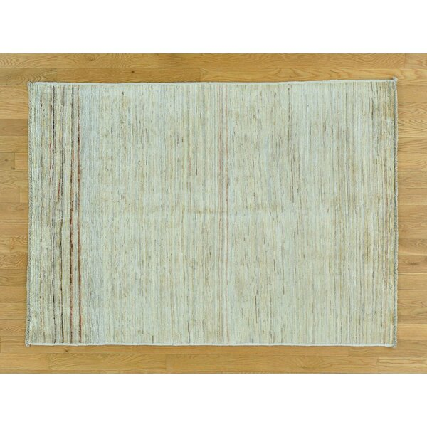 One-of-a-Kind Becker Transitional Hand-Knotted Wool Area Rug by Isabelline