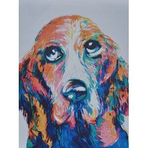 Jack Painting Print on Canvas by Crestview Collection