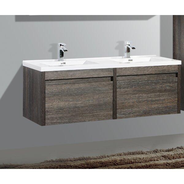 Rosas 59 Double Bathroom Vanity Set by Wrought Studio