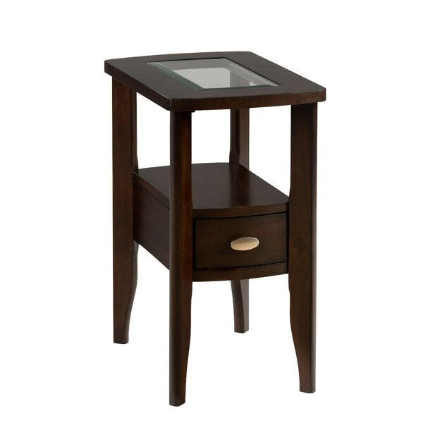 Holzman Wooden End Table by Red Barrel Studio