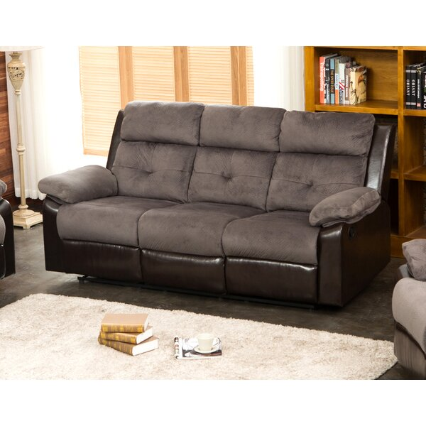 Perfect Cost Tavistock Reclining Sofa by Red Barrel Studio by Red Barrel Studio
