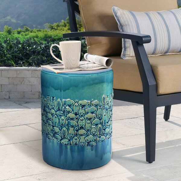 Aeliana Garden Stool by Highland Dunes